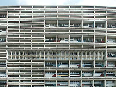 corbusierhaus unite d 39 habitation typ berlin charlottenburg wilmersdorf flatowallee 16. Black Bedroom Furniture Sets. Home Design Ideas